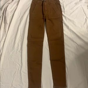 Brown American Eagle jeans